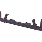 AXLE WELDMENT EZGO 85-88-289