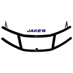 6297-JAKES BRUSH GUARD BLACK STEEL YAMAHA DRIVE G29